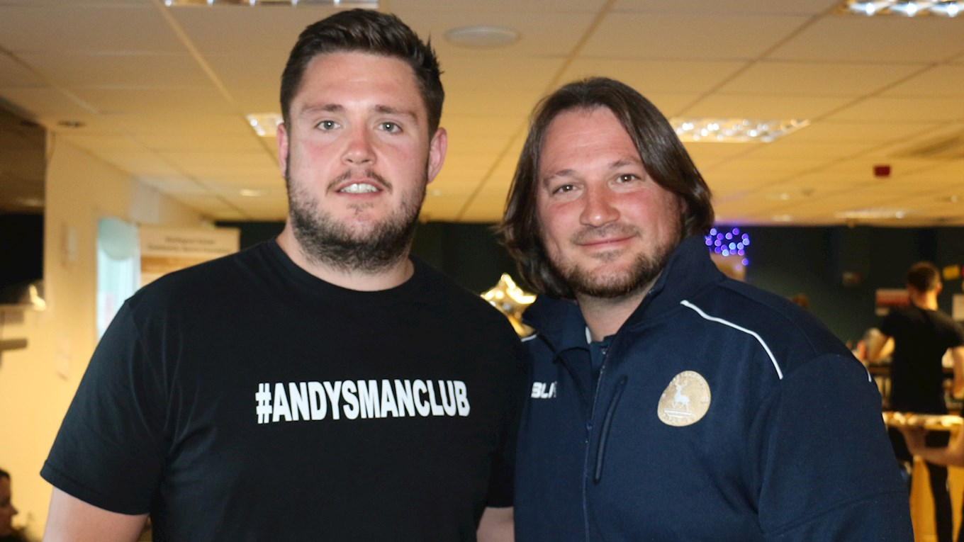Luke Ambler and Craig Harrison