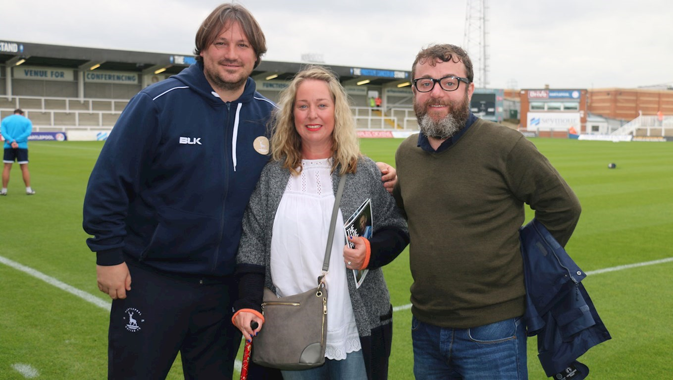 Craig Harrison with Mr & Mrs Skelly