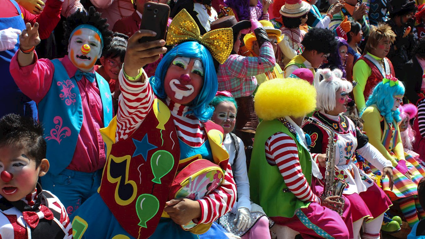 Pools fans are set to dress as clowns