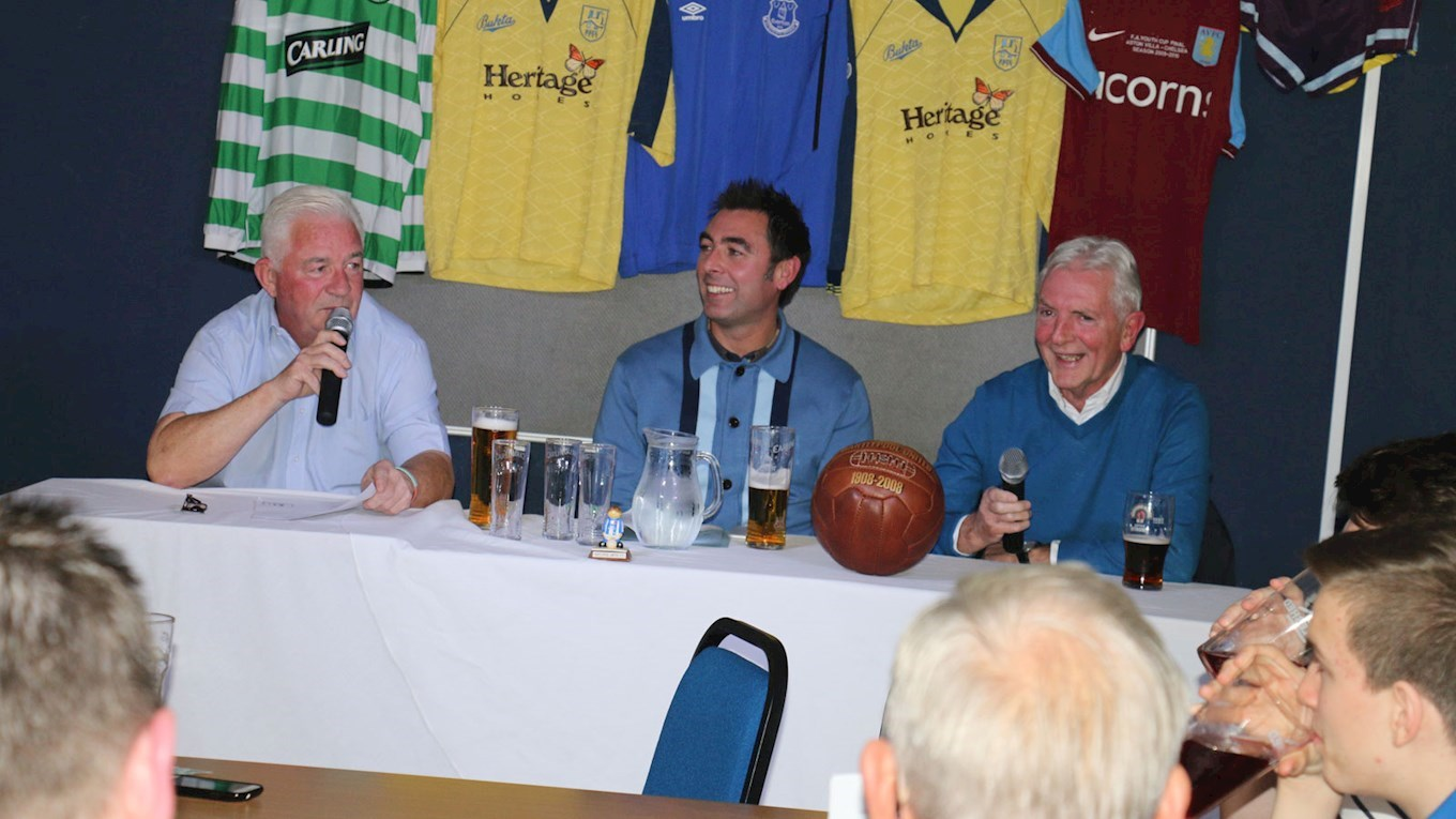 Alan Murray, Nick Loughlin and Eddie Kyle
