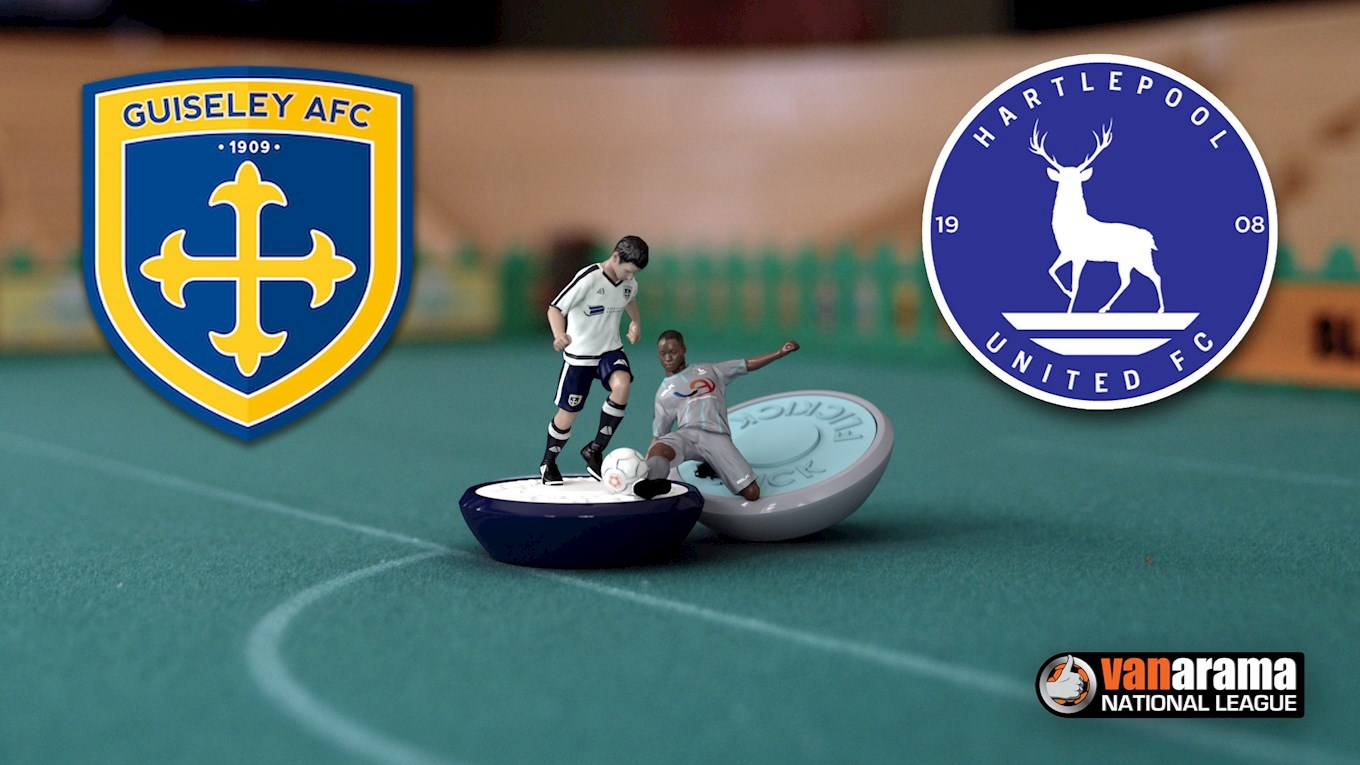 Guiseley AFC v Hartlepool United