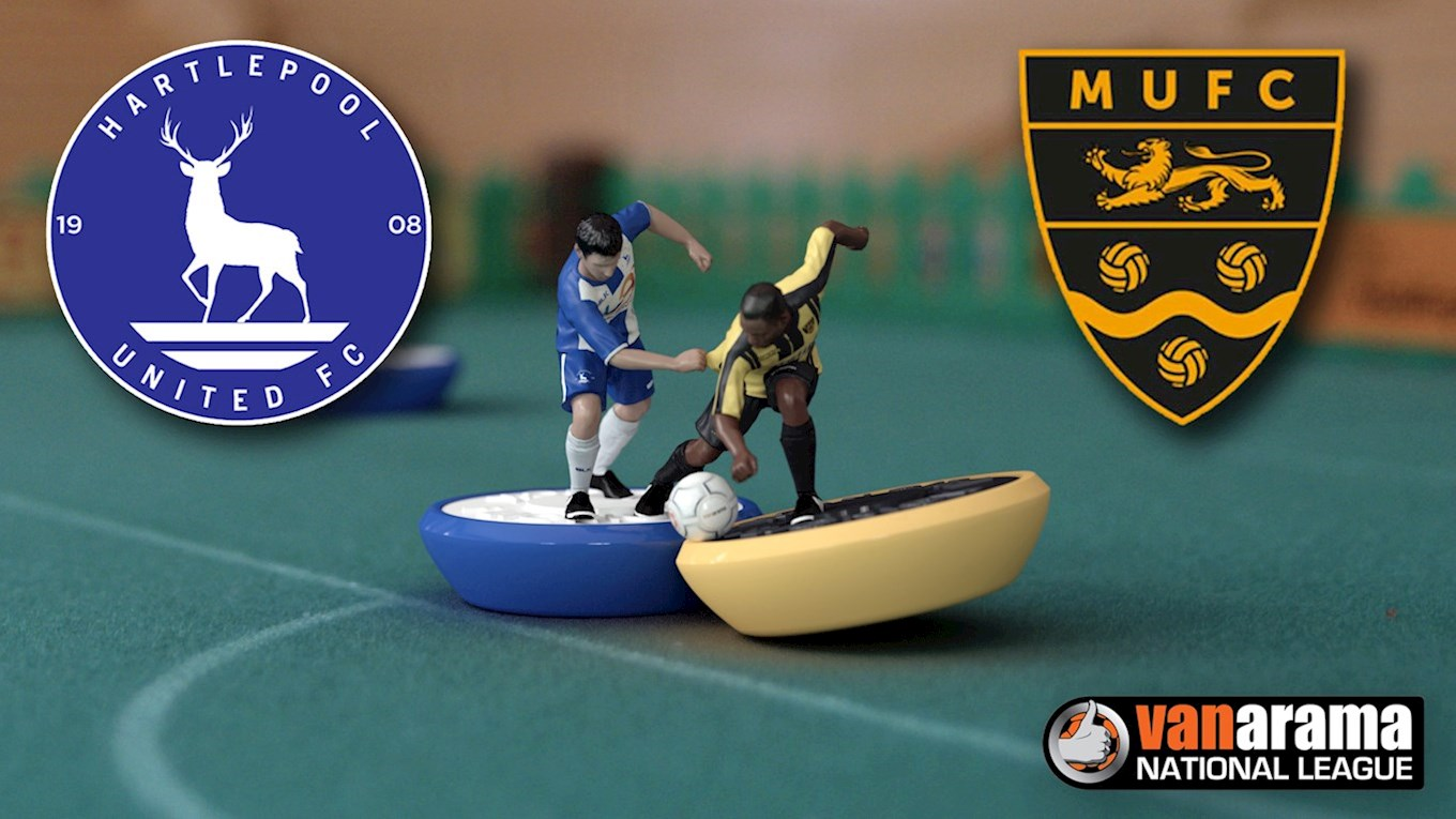 Hartlepool United v Maidstone United