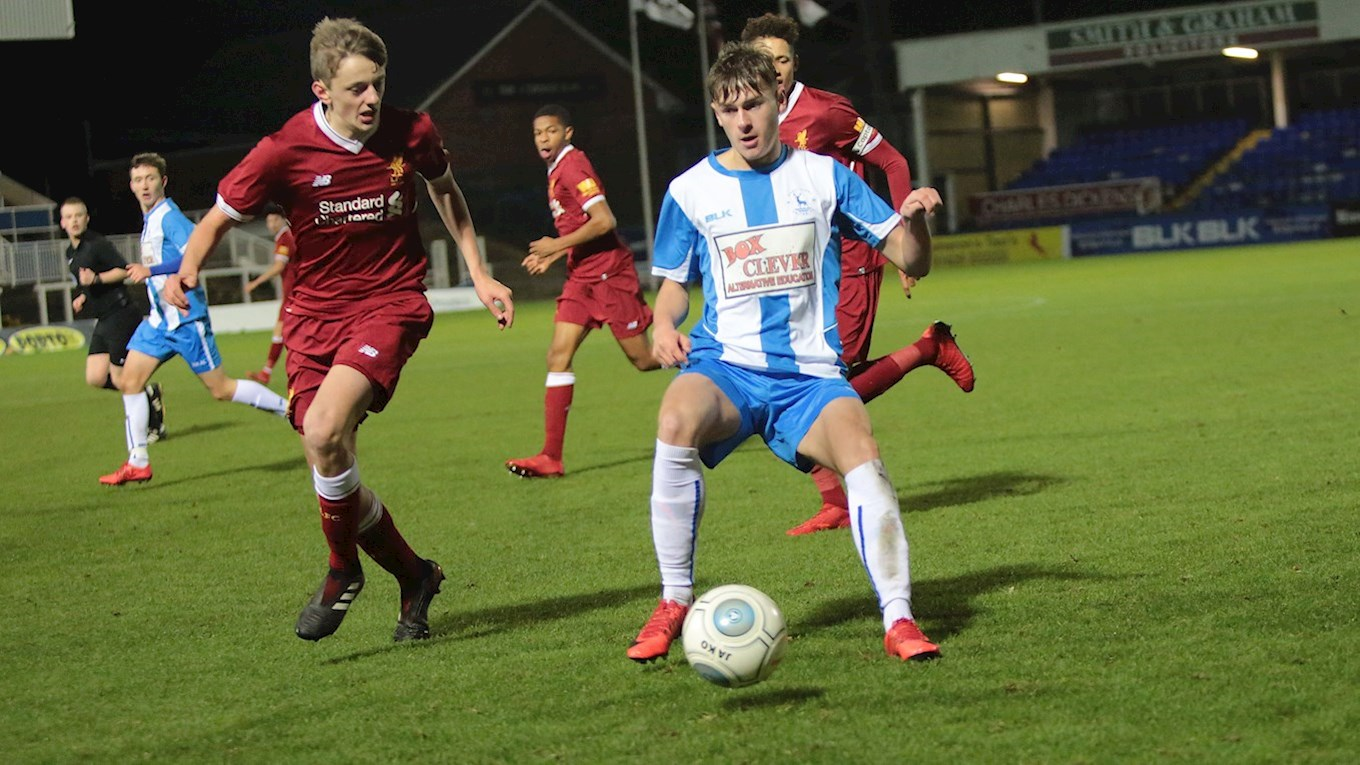 Pools v Liverpool, FA Youth Cup