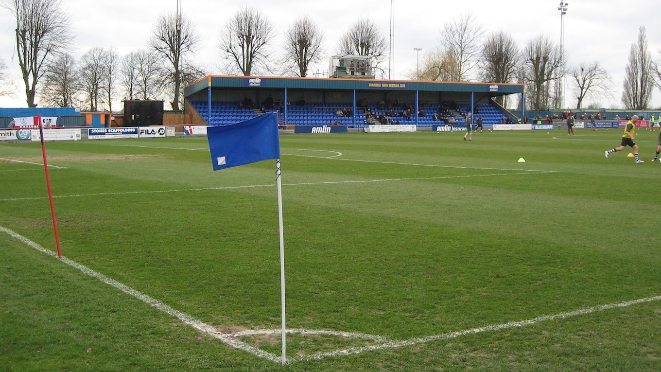 Braintree Town play at Cressing Road