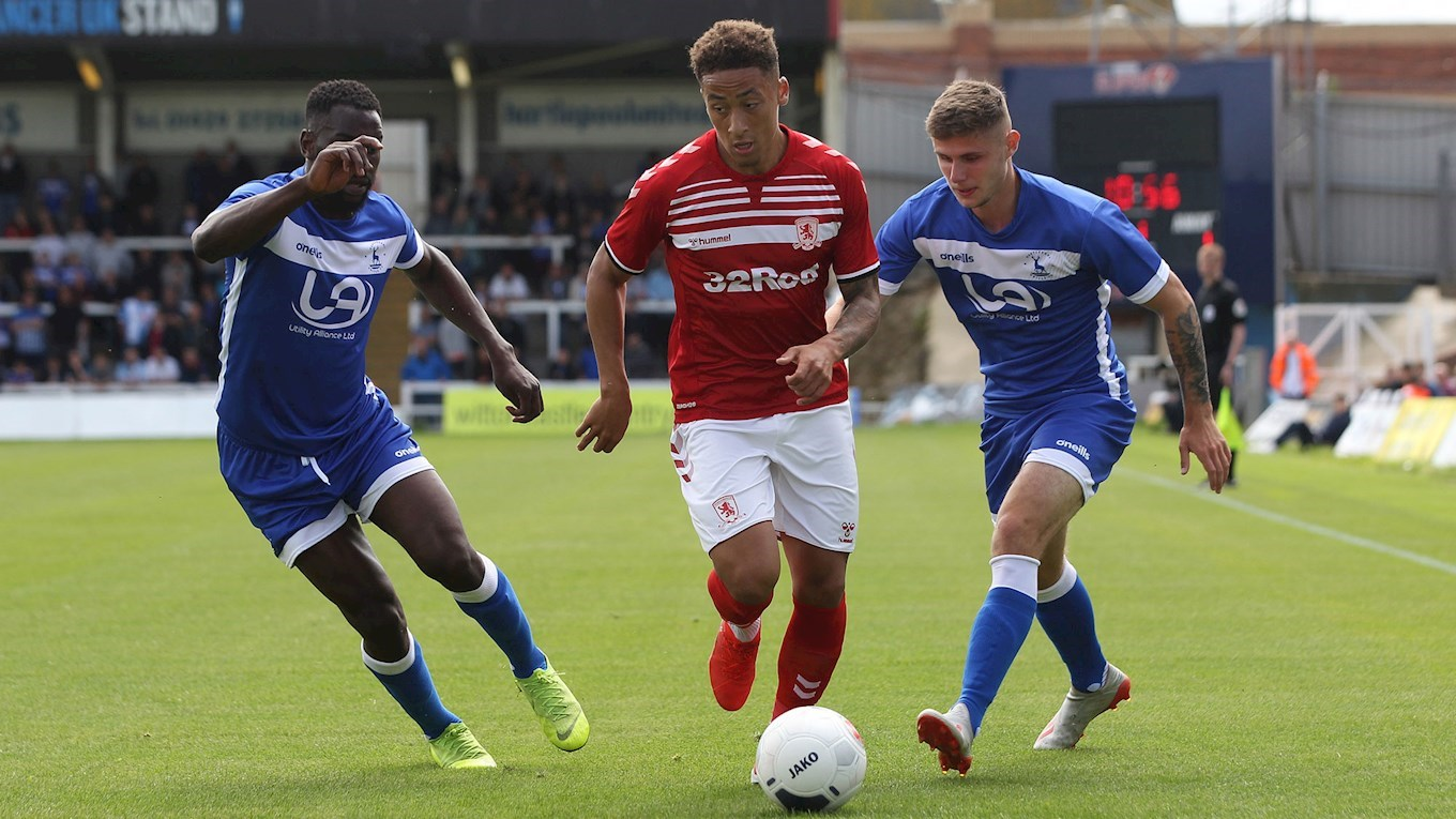 Hartlepool United v Middlesbrough