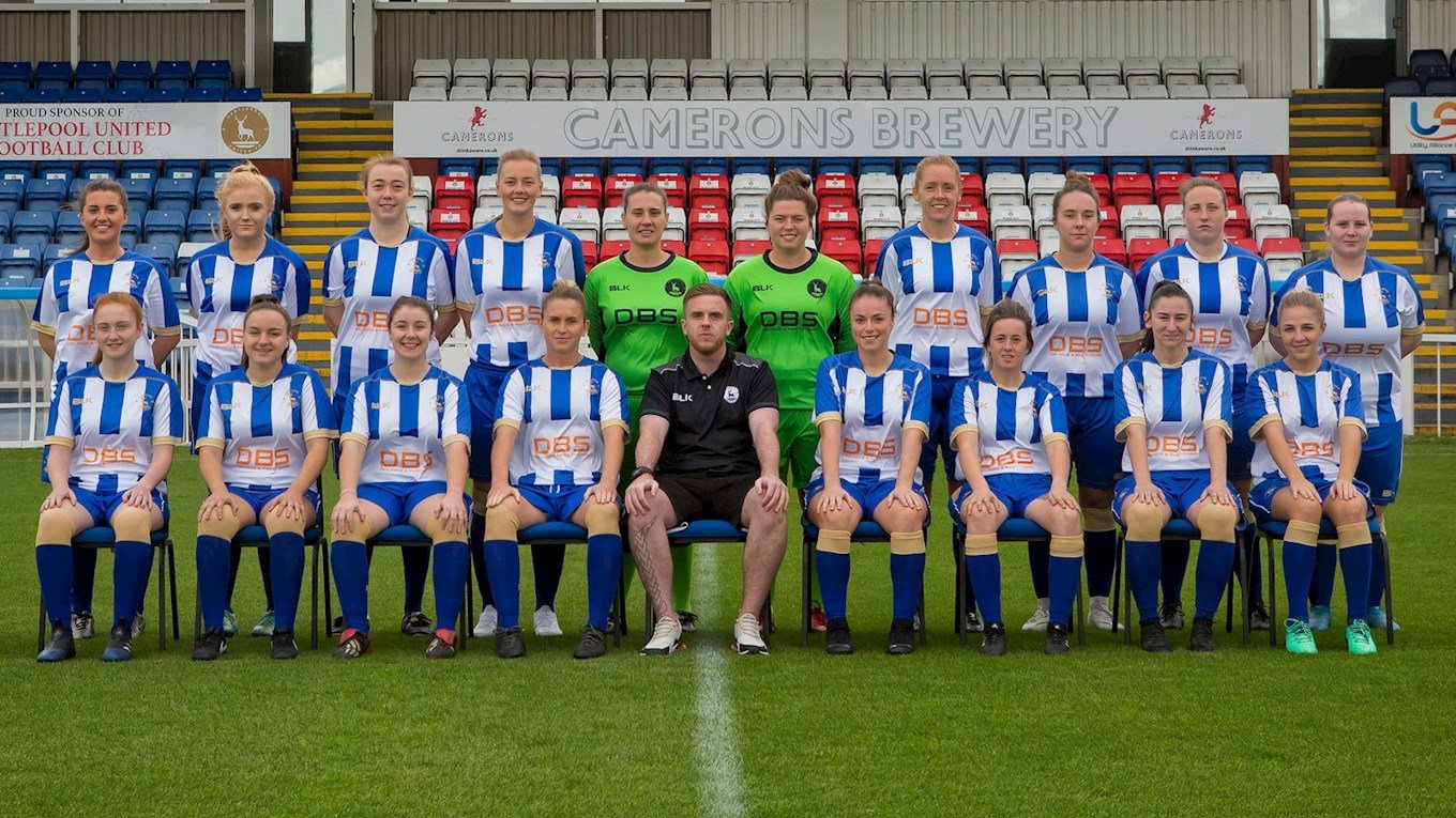 Hartlepool United Ladies 2018/19